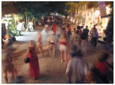 night life, hotel eclipse, playa del carmen, riviera maya, mexico